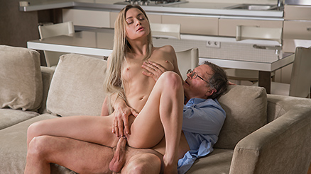 Old4k hot passionate sex and orgasm with an older man